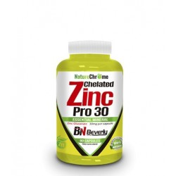 Chelated Zinc Pro 30 90 caps Beverly Nutrition