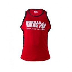 Stretch Tank Top Tango Red Gorilla Wear
