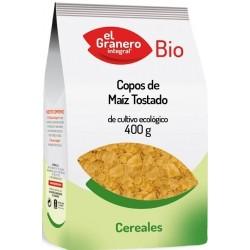 Copos de Maíz Tostado Bio 400 gr El Granero Integral