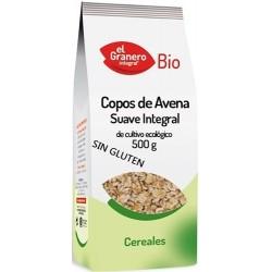 Copos Suaves de Avena Integral Bio Sin Gluten 500 gr El Granero Integral