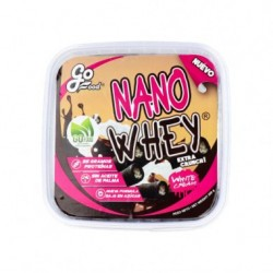Barquillos Nano Whey rellenosde crema blanca 200gr Gofood