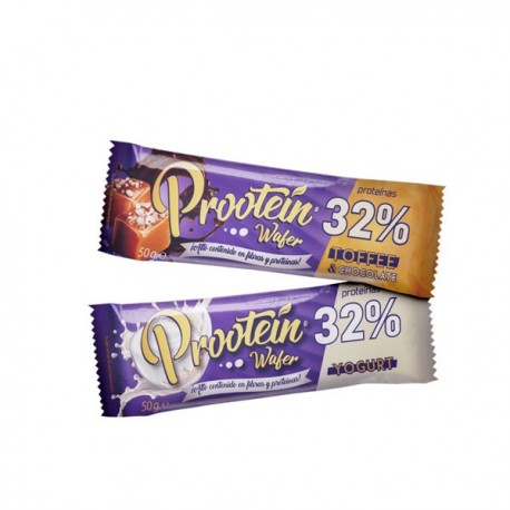 Barrita galleta 32% Protein Wafer50gr Menu Fitness