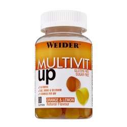 Energy Boost Gummies Multivit 80 Gom Weider