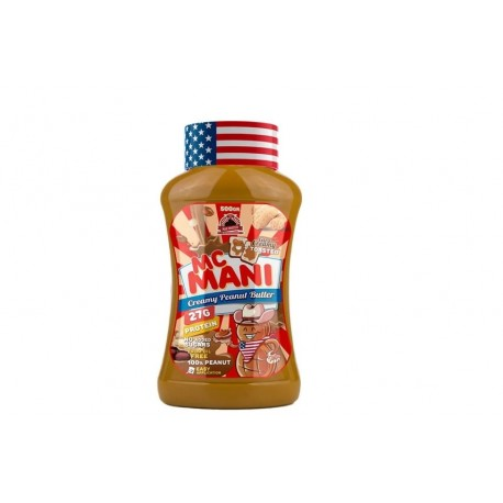 Mc Mani Peanut Butter - Mantequilla de Cacahuete 500 gr Max Protein