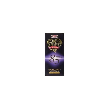 Tableta chocolate 85% caca zero 100gr Torras