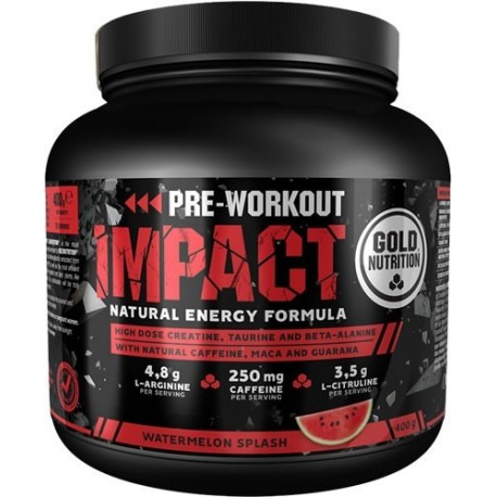 Impact Pre-Workout 400 gr Gold Nutrition