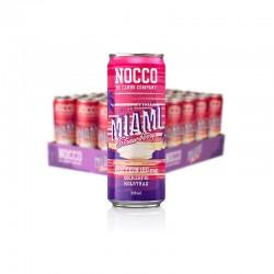 Bebida Bcaa Miami fresa 330ml Nocco