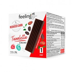 Tableta de chocolate Tavoletta 20gr Feelingok