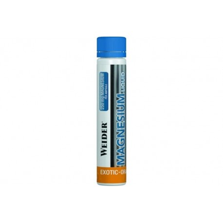 Magnesio Liquido 1 botellita x 25 ml Weider