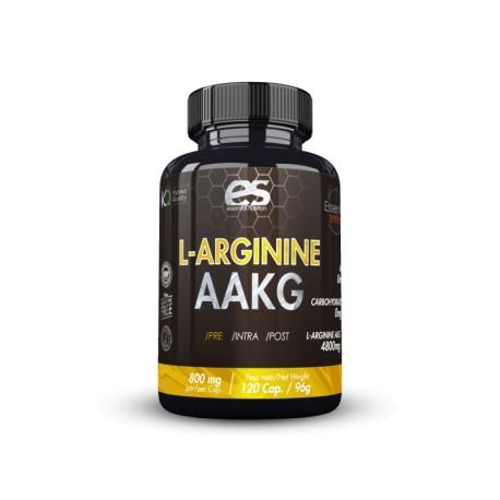 L-Arginine AAKG 120caps Essential Nutrition