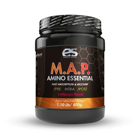 M.A.P.  Amino Aminoácidos esenciales 500gr Esential Nutrition