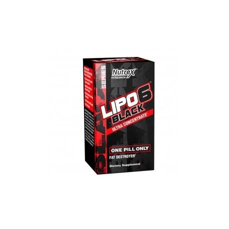 Lipo 6 Black Ultra Concentrate 60 caps Nutrex