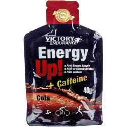 Energy Up! + Cafeina Gel 1 gel x 40 gr Victory Endurance