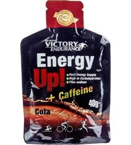 Energy Up! + Cafeina Gel 1 gel x 40 gr Victory Endurance