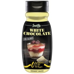 Sirope Chocolate Blanco sin Calorias 320 ml Servivita
