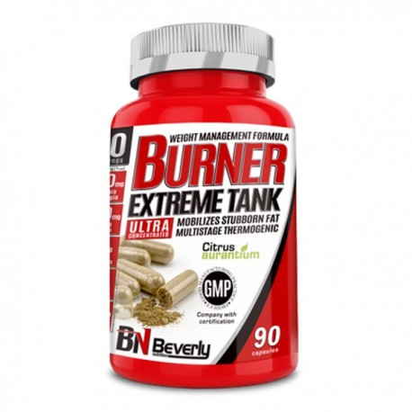 Burner Extreme Tank 90 caps Beverly Nutrition