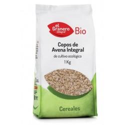 Copos Avena Integral Bio 1 Kg El Granero Integral