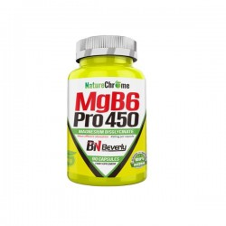 Magnesio Mgb6Pro 450 90 cap Beverly Nutrition