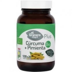 El Granero Integral Cúrcuma + Pimienta Bio 60 caps